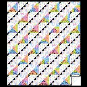 Rainbow Garden Quilt Kit
