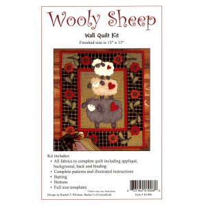Wooly Sheep Quilt Kit RK1006