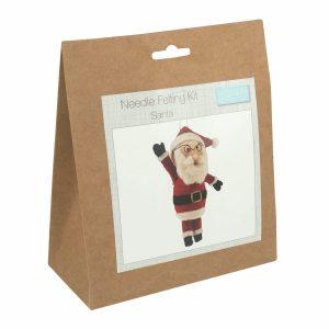 Santa Needle Felting Kit-TCK020